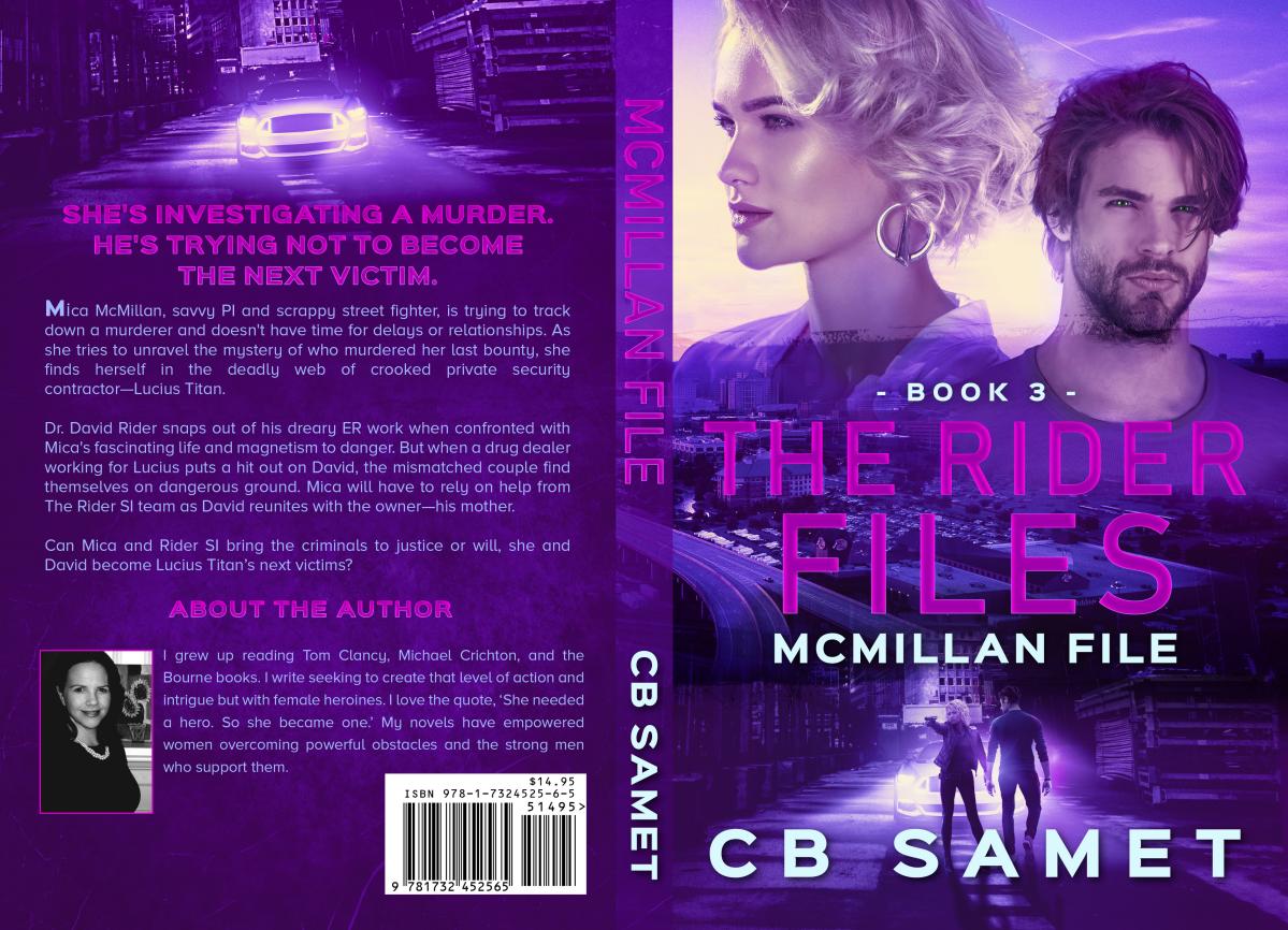 McMillan File Print Book Cover