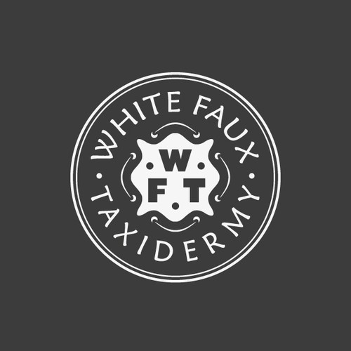 Help White Faux Taxidermy with a new logo