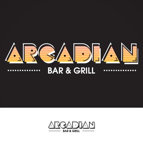 Arcadian - Arcade, Bar & Grill Logo
