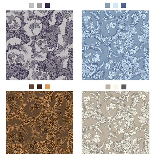 Paisley pattern for home brewers and craft beer enthusiasts.