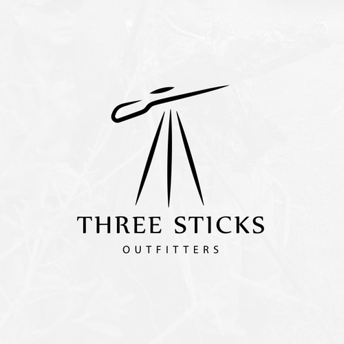 Three sticks