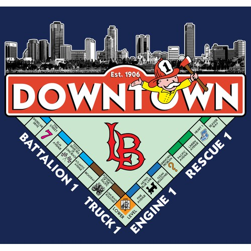 Downtown Long Beach Logo