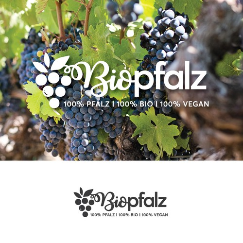 Wine online shop logo