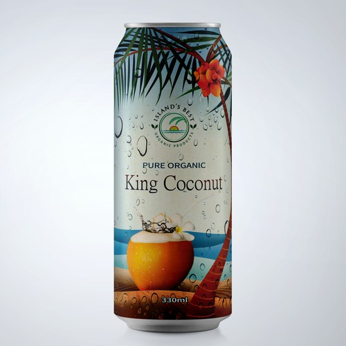 Pure Organic King Coconut Water