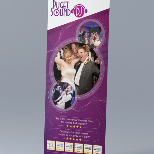 "Roll up Banner for ""Puget Sound DJ"""