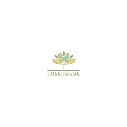 Logo concept for body care and meditation products