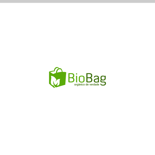 Simple logo for organic bag