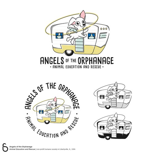 Logo Design for Angels of the Orphanage