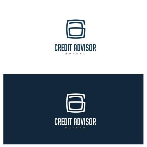"Concept logo for ""Credit Advisor Bureau"""