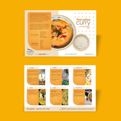 Recipe Card Design