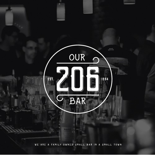 Logo for Our 206 Bar