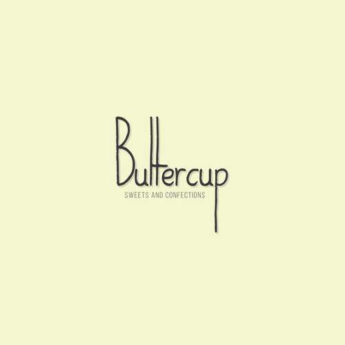Winning logo for Buttercup Sweets