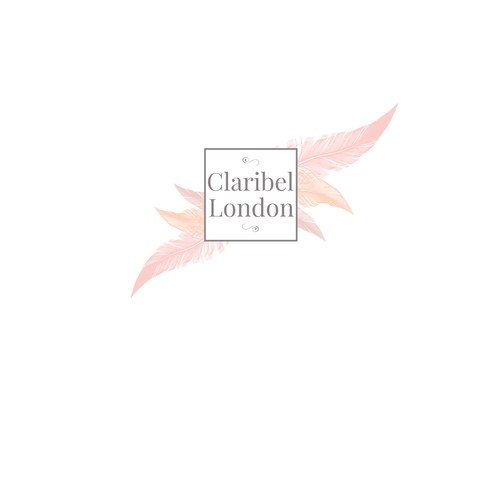 Create the image for a new shabby Chic London Brand