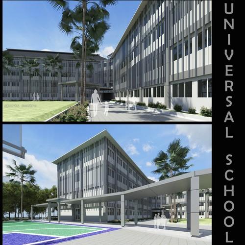 Design School Facade