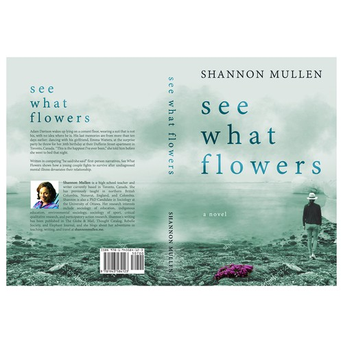 """Book cover for """"See What Flowers"""""""