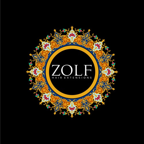 Design for ZOLF Hair Extensions - Luxury, Beauty