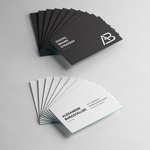 Business Cards for Alexander Burgstaller
