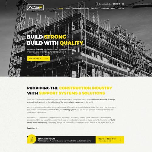 ADSF(Al Dhabi Scaffolding & Formwork LLC))