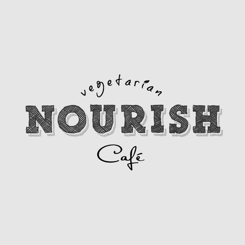 logo NOURISH cafe