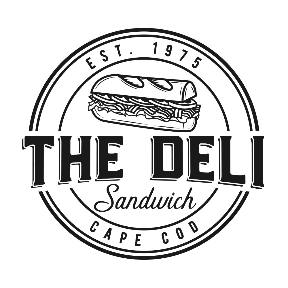 Design a logo for The Deli with an industrial feel
