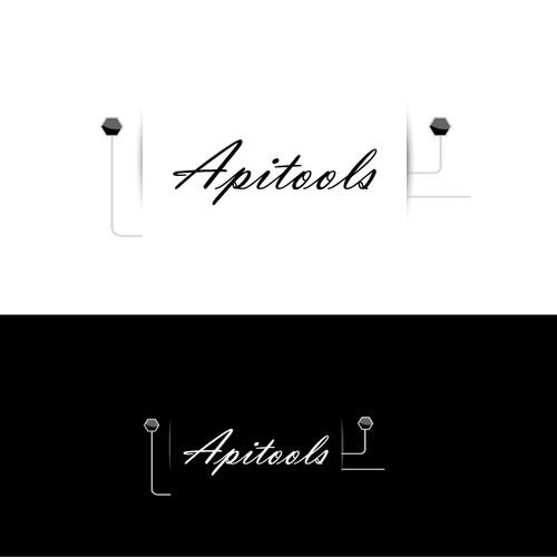 Apitools logo design