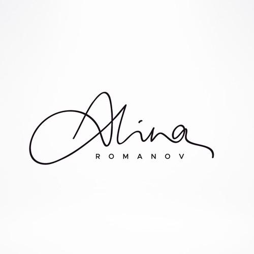 Luxury fashion logo