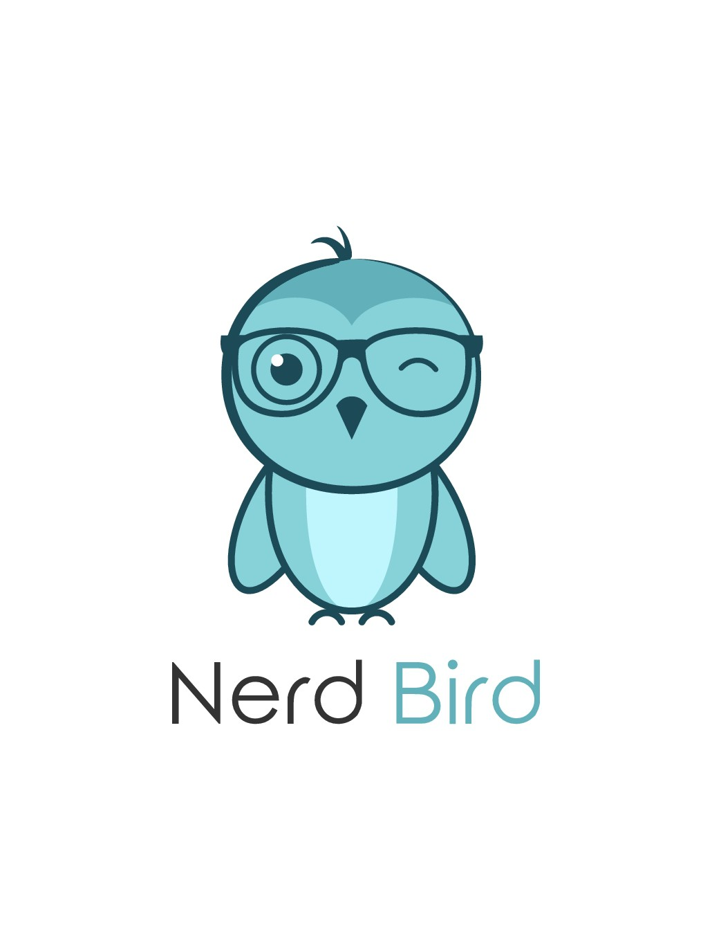 Design a logo for Nerd Bird (nerds are cool, stop bullying) campaign.