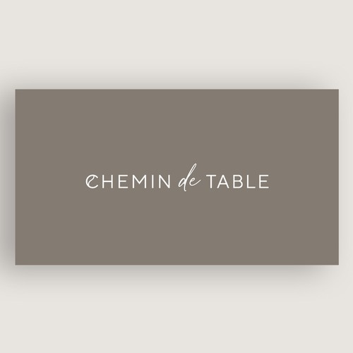 An elegant and modern wordmark for a table cutlery brand