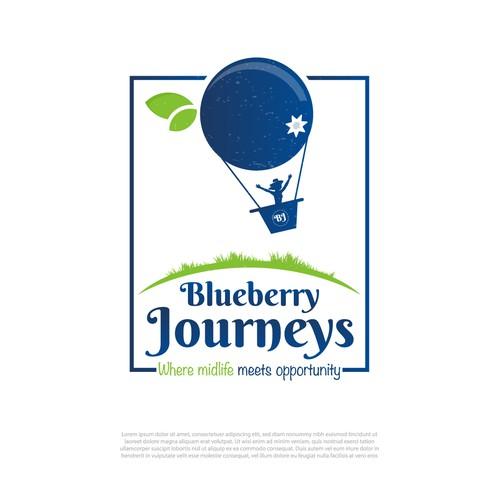 logo desin for Blueberry Journeys