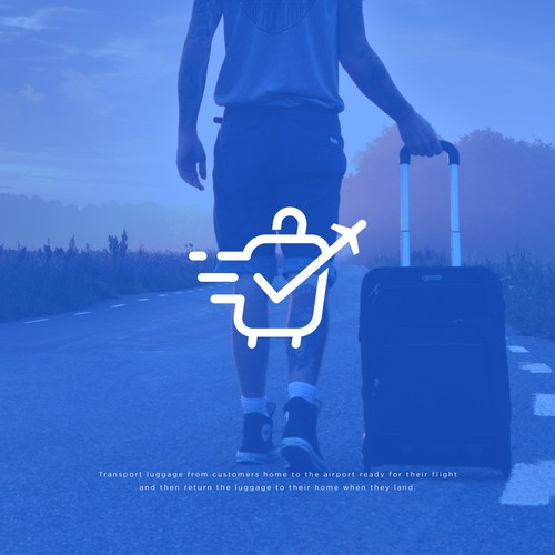Logo Concept for Luggage Transfer