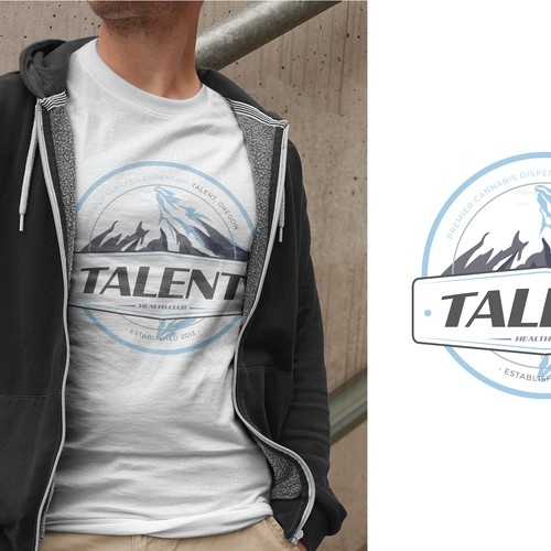 T-Shirt Design for Talent Health Club