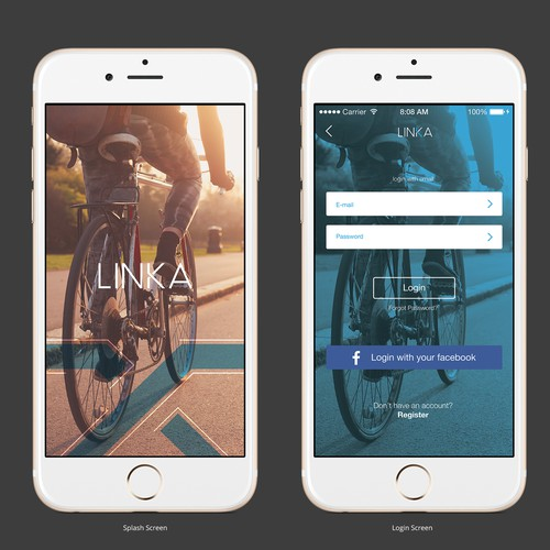 LINKA App Design