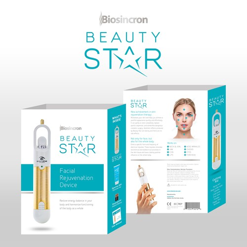 "Sleeve Design for ""Beauty Star"""