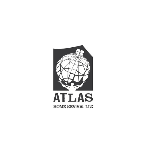 construction company logo concept