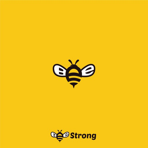 Logo for Bee Strong