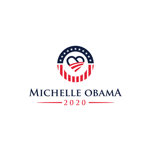 Design Michelle Obama's 2020 Presidential Logo