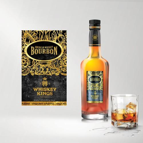 Bourbon label: WhiskeyKings