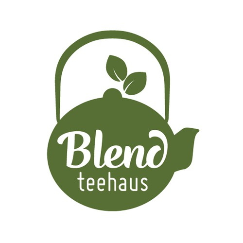Create a logo for a small teahouse