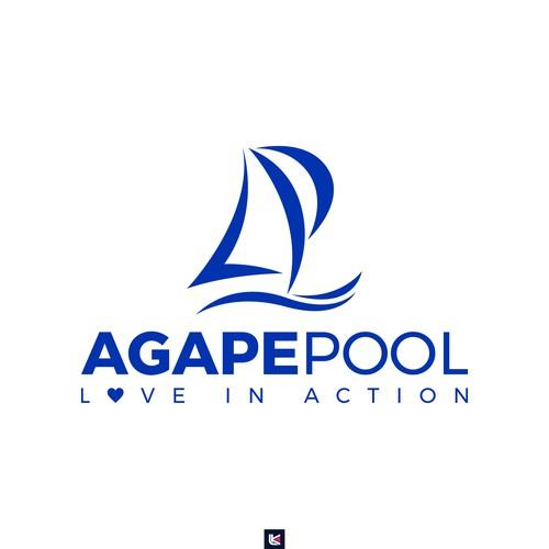 AGAPE POOL Love in Action Logo