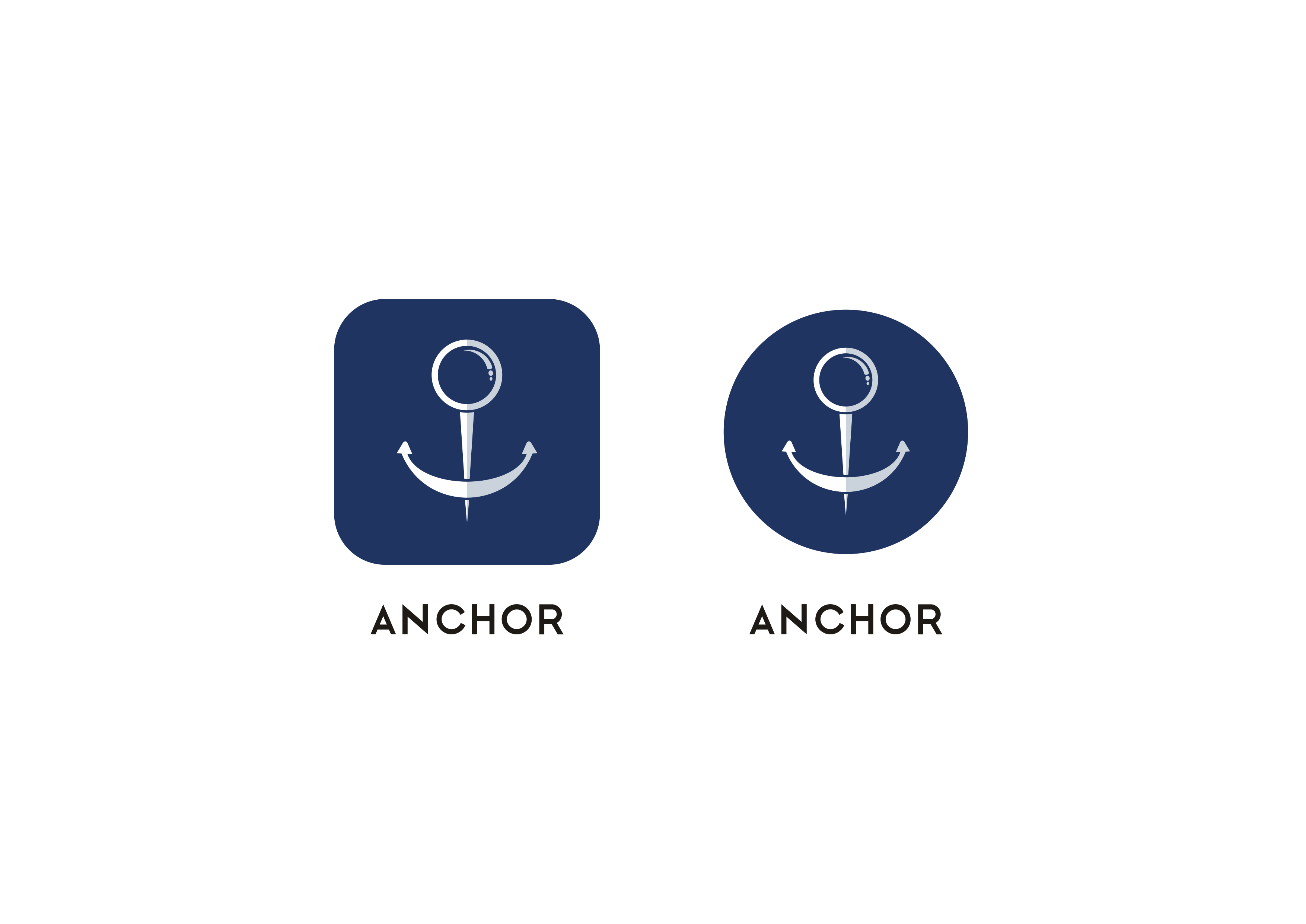 Design an anchor app logo that will attract millennials and baby boomers alike!