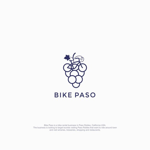 Sophisticated & unique logo for Bike Paso.