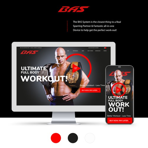 Design to promote an exciting fitness product!
