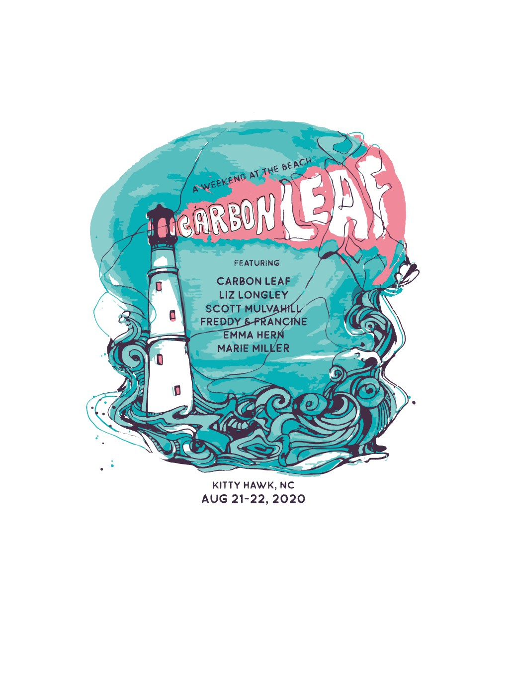JAWS or LIGHTHOUSE: music fest branding images needed for beach event