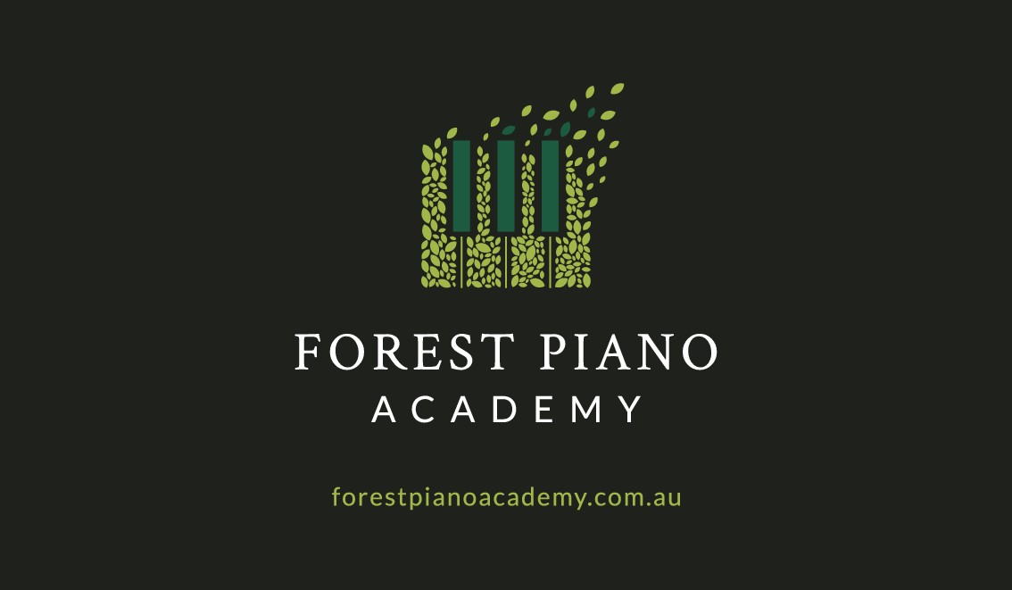 Design a spectacular logo for Forest Piano Academy with possible future paid follow up work