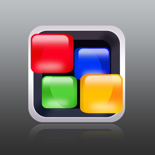 iOS Game Icon (Rock the Puzzle)