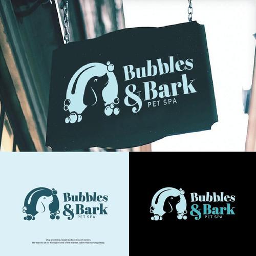 Dog Groomer/Pet Spa Needs a Luxurious Logo