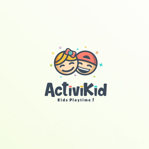 Fun logo for ActiviKid