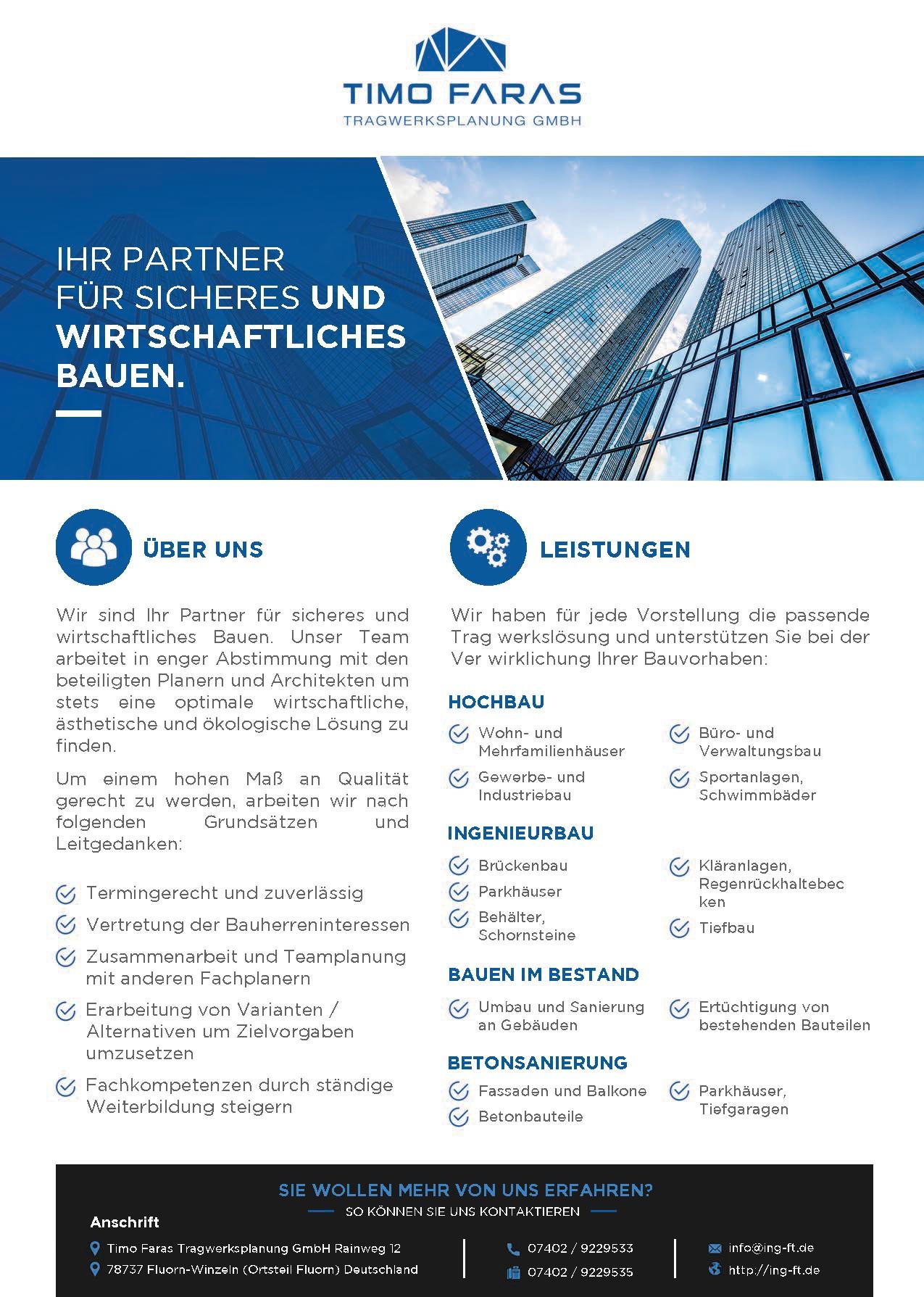 Faras GmbH Broschüre
