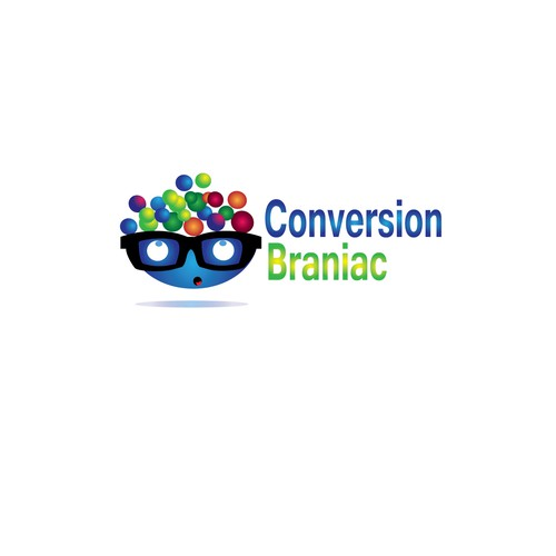 Create a cool, fun logo for Conversion Braniac
