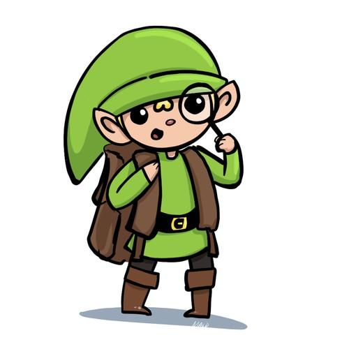Elf, the mascot